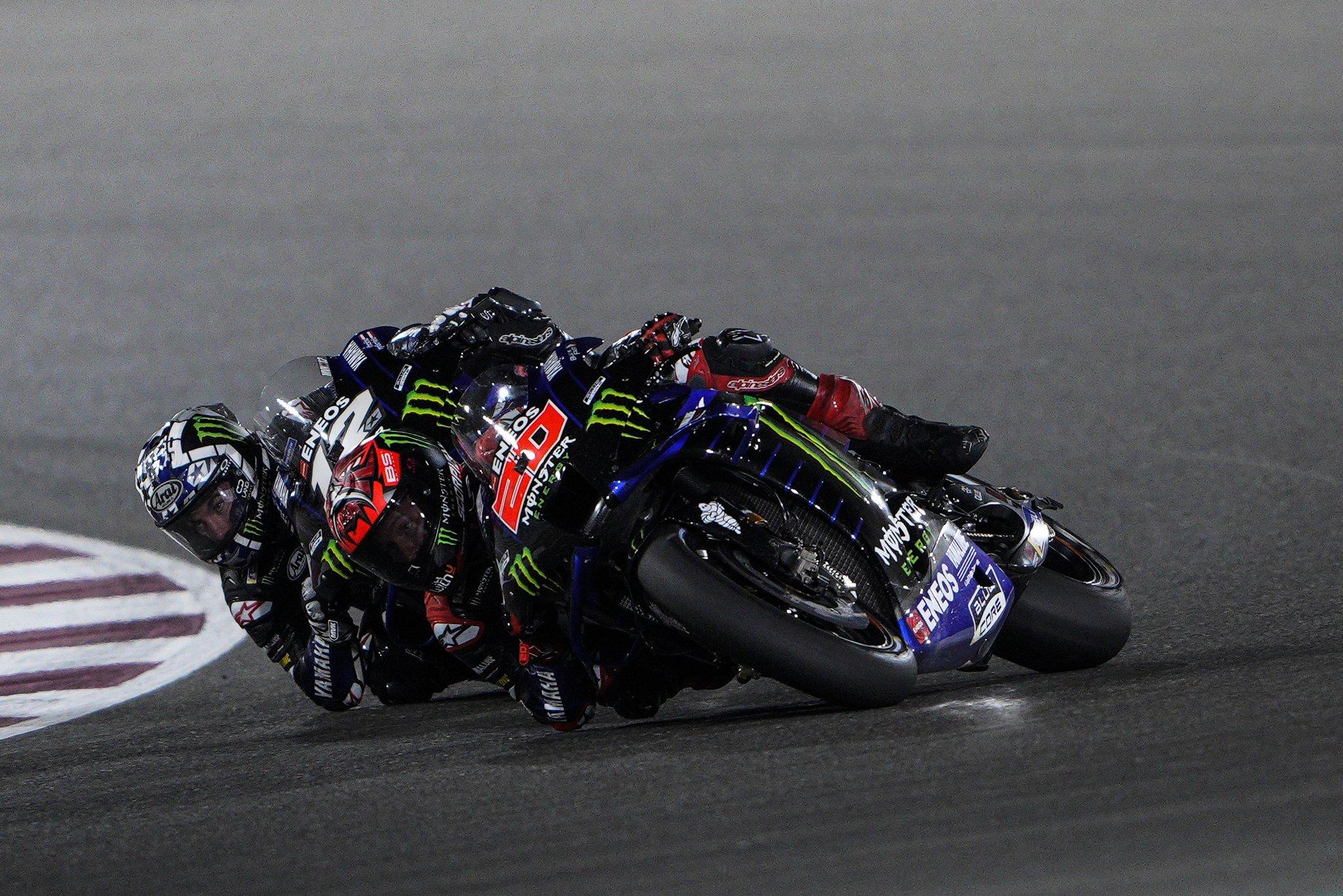 Quartararo e Viñales - MotoGP 2021 - GP Doha